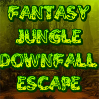 Fantasy Jungle Downfall Escape Games2Rule