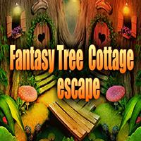 Fantasy Tree Cottage Escape AvmGames