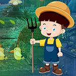 Farmer Kids Escape Games4King