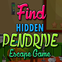 Find Hidden Pendrive Escape Game MeenaGames