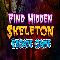 Find Hidden Skeleton Escape Game MeenaGames