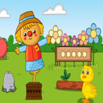 Find The Color Eggs Games2Jolly