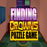 Finding Crowns Puzzle Game MeenaGames