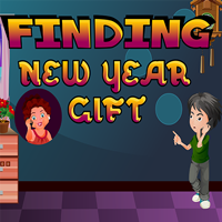 Finding New Year Gift