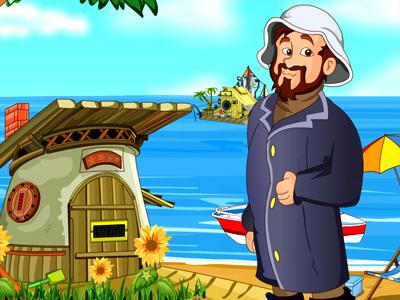 Fisherman Hut Escape Grace Girls Games