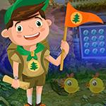 Flag Boy Rescue Games4King