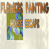 Flowers Painting House Escape EscapeFan