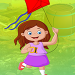 Flying Kite Girl Escape Games4King