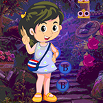 Forest Analyze Girl Rescue Games4King