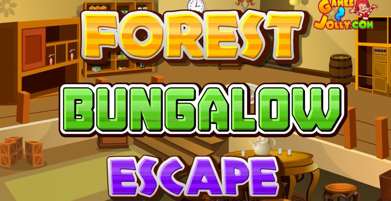 Forest Bungalow Escape Games2Jolly