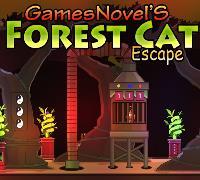 Forest Cat Escape GamesNovel