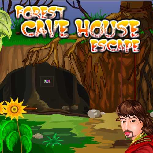 Forest Cave House Escape EscapeGames3