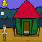Forest Cute Man Hungry Escape Games2Jolly