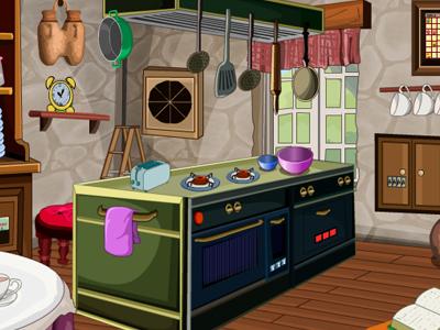French Kitchen Room Escape GraceGirlsGames