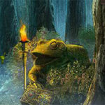 Frog Forest Escape 8BGames