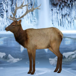 Frozen Land Elk Rescue Games2Rule