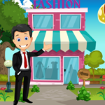 Funny Businessman Rescue Games4King