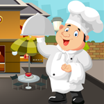 Funny Chef Rescue Games4King