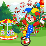 Funny Clown Rescue Games4King
