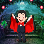 Funny Vampire Boy Rescue Games4King
