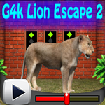 G4k Lion Escape 2 Games4King