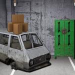 Garage Machine Room Escape eKeyGames