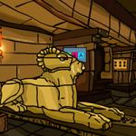 Genie Egypt Pyramid Escape GenieFunGames