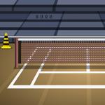 Genie Tennis Court Escape GenieFunGames