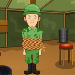 Genie The Military Man Rescue GenieFunGames