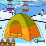Genie Winter Resort Rescue GenieFunGames