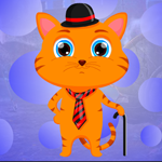 Gentleman Cat Escape Games4King