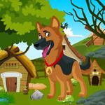 German Shepherd Dog Rescue Games4King