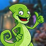 Giant Chameleon Escape Games4King
