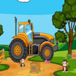 Giant Tractor Escape Games2Jolly
