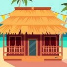 Girl Beach House Escape EscapeGamesZone