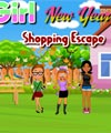 Girl New Year Shopping Escape PinkyGirlGames