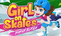 Girl on Skates Paper Blaze