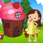 Girl Rescue From Ice Cream House Games4King
