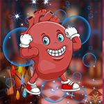 Gleeful Human Heart Escape Games4King