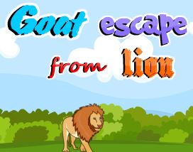Goat Escape From Lion PinkyGirlGames