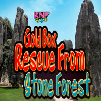 Gold Box Rescue From Stone Forest KNFGames