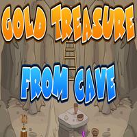 Gold Treasure From Cave EscapeGamesDaily