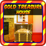 Gold Treasure House Escape AvmGames