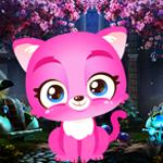 Graceful Pink Cat Escape PalaniGames