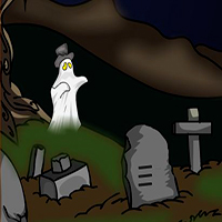 Graveyard Treasure Escape EscapeGamesZone