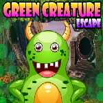 Green Creature Escape Games4King