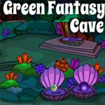 Green Fantasy Cave Escape Games 4 King