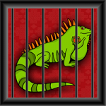 Green Iguana Rescue Games2Jolly