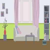 Green Room Escape OnlineGamezWorld