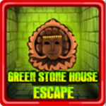 Green Stone House Escape Escape007Games